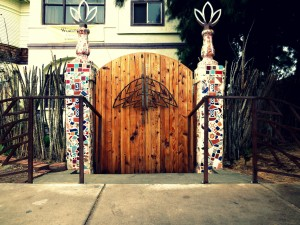 The Front Gate - Metal Work by Josh Smith