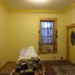 AFTER: We chose a lovely soft yellow with a bright trim.