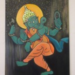 Ganesh dancing through time and space by Kelsea  Backinger