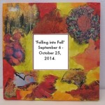Autumn Collage Mirror by Gayle Swanbeck