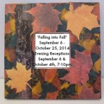 Autumn Collage Mirror by Zoe Rhyne