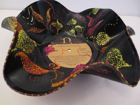 Melted Vinyl Art By Gayle Swanbeck Womankraft Art Center