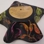 (back)Melted Vinyl Art by Gayle Swanbeck