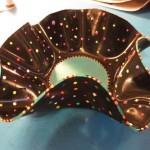 vinyl bowl by Barbara Achord