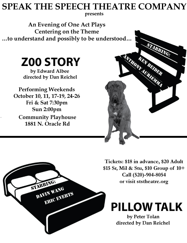 Zoo Story Pillow Talk Poster