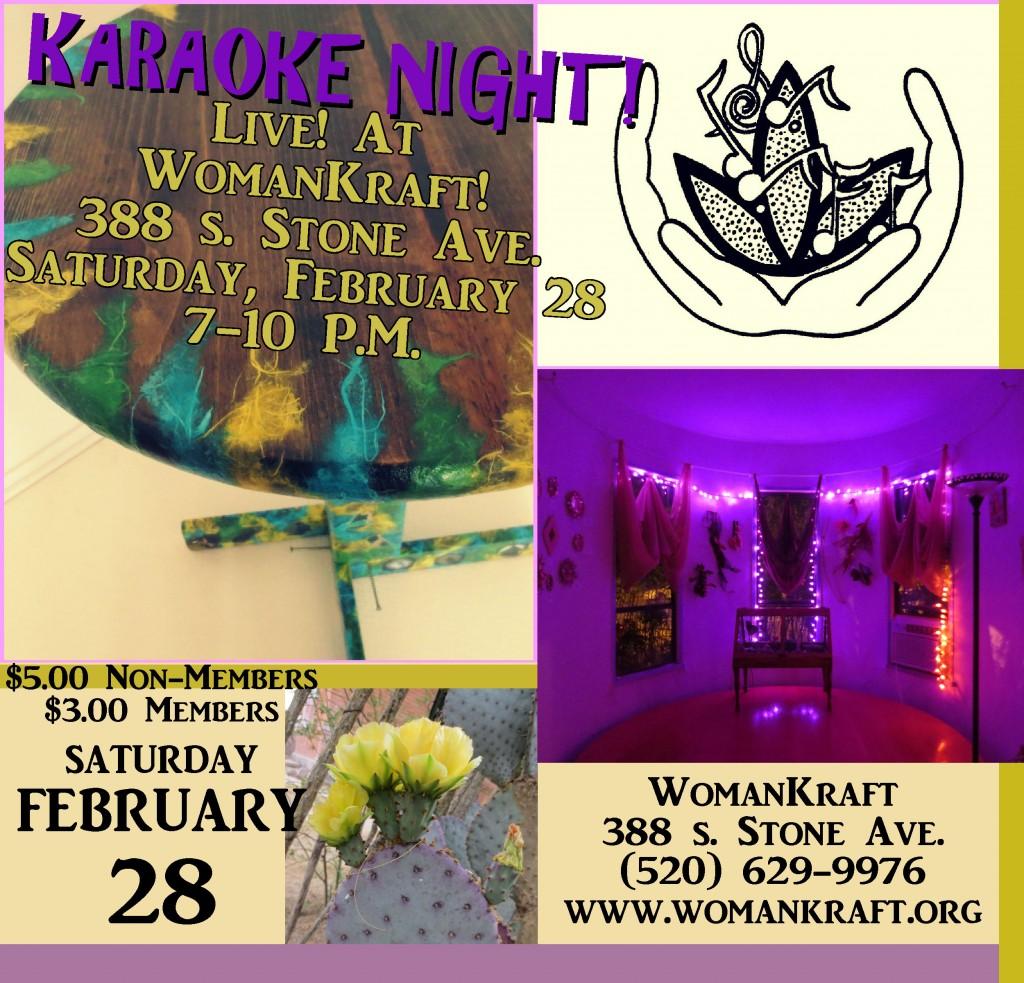 Karaoke night!! EEeekk!