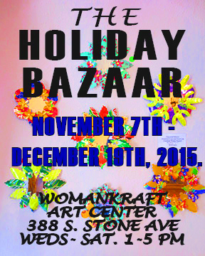 Show Runs November 7th - December 19th, 2015
