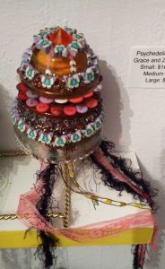 Psychedelic Jellyfish by Grace Rhyne