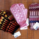 Hand-Knit Mittens by Susan Wolff
