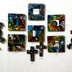 Stained Glass Mosaic Mirrors by Traci Kelly