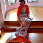 Mermaid Tail Blankets by Zoe Rhyne