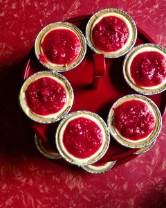 Miniature Cheesecakes! Baked by Zoe Rhyne
