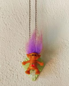 Sexy Pacifist Troll Necklace by Grace Rhyne