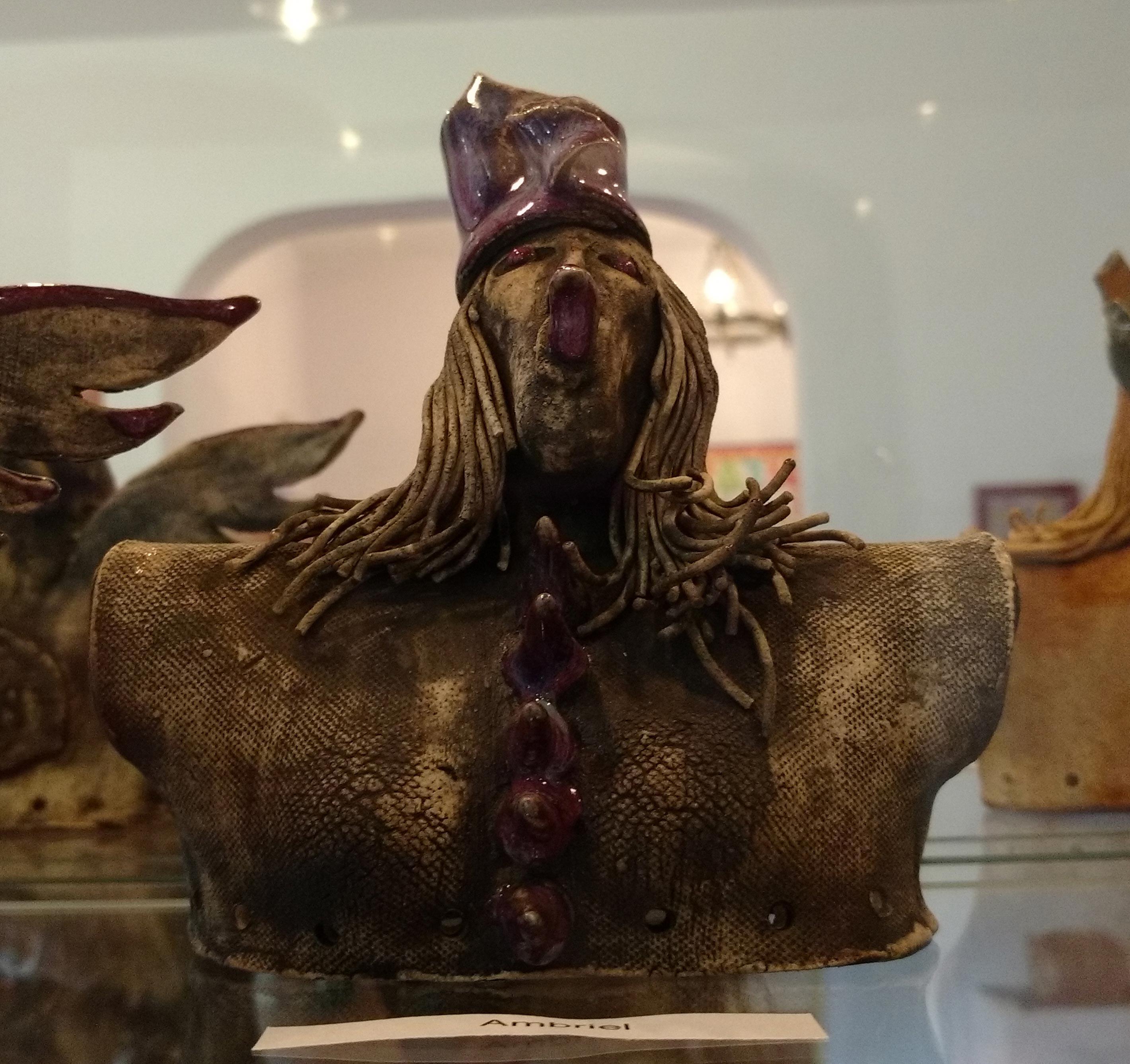 Ceramic Queen by Maria Pia Minichiello