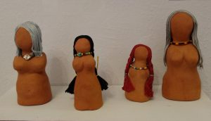 Clay Goddesses by Susi Learn