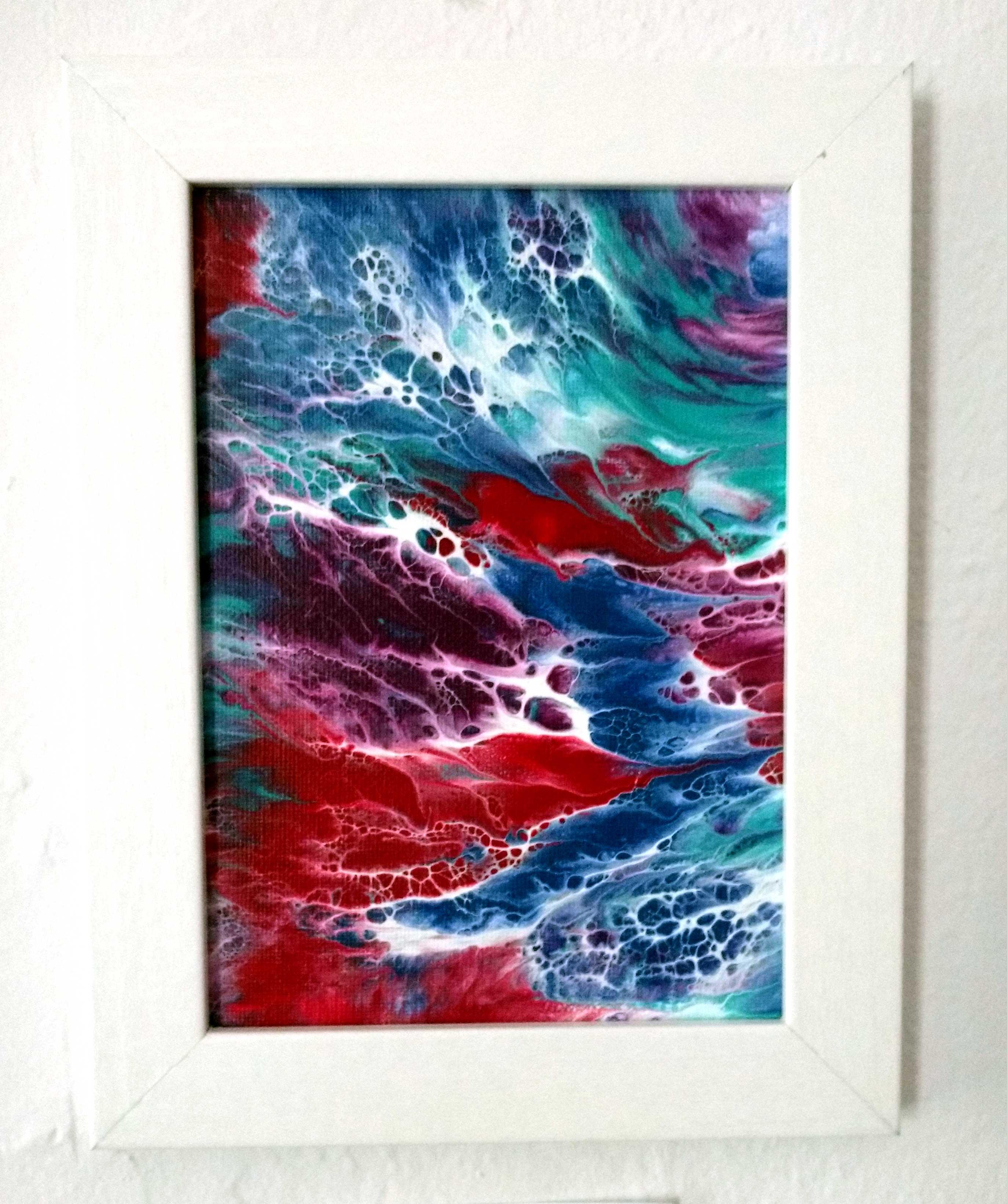 'Sea Foam' Acrylics by Joni Brei