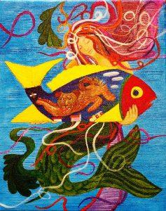 Original Acrylic Painting by D. K. Martinez