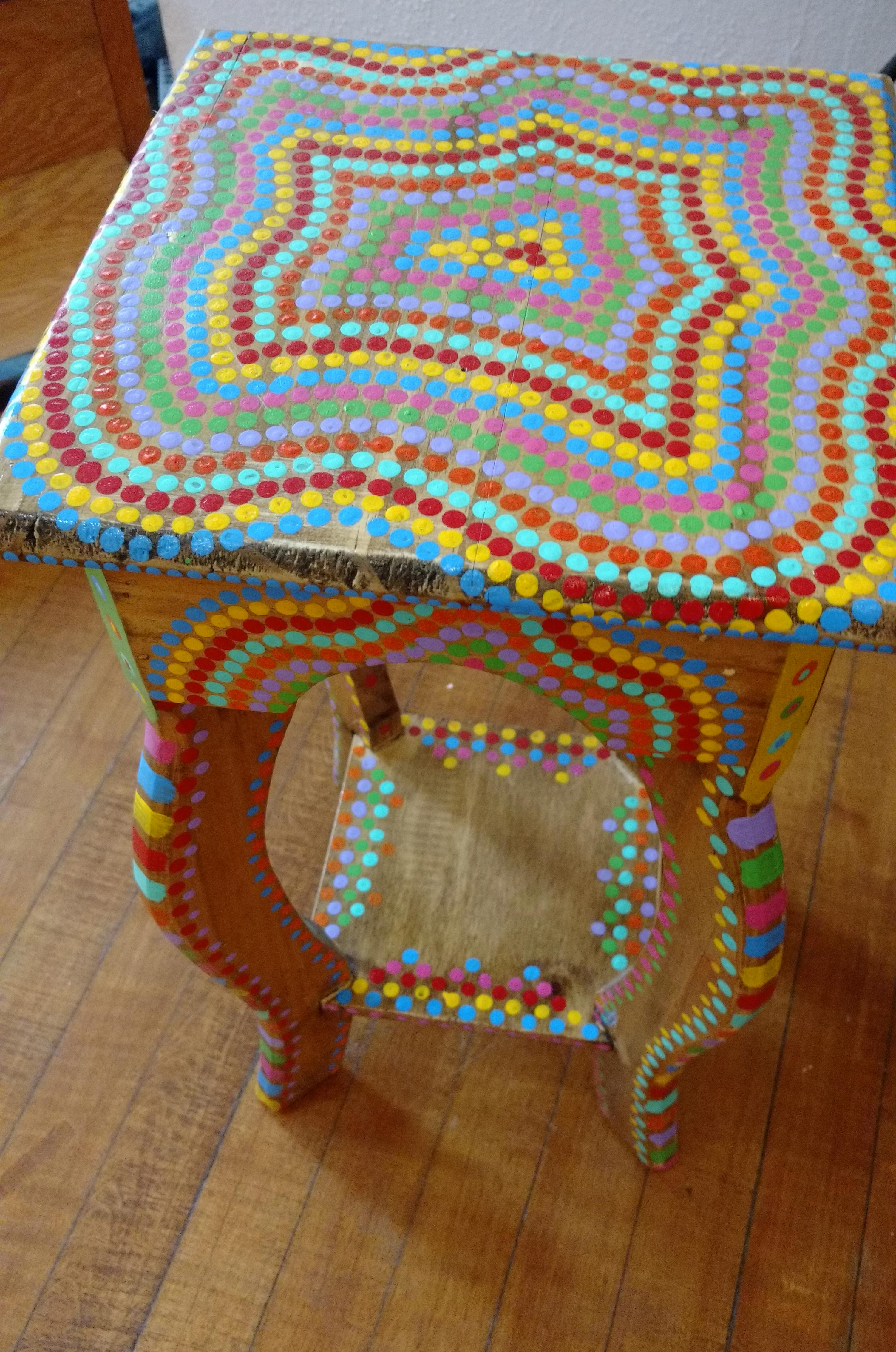 Painted Table By Patty Lyons