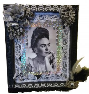 Frida Shadowbox by Zoe Rhyne